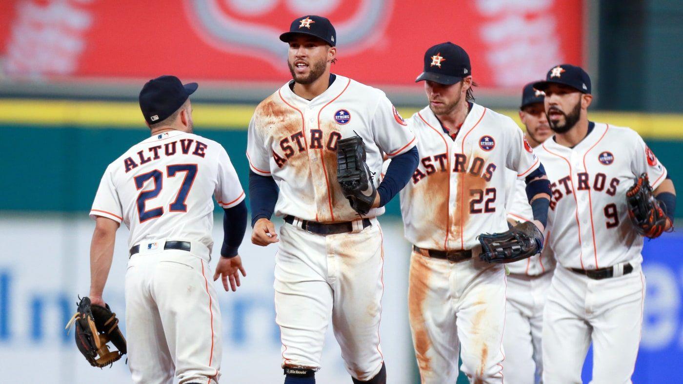 Houston Astros After Hurricane Harvey Astros Cleveland Indians Houston Astros