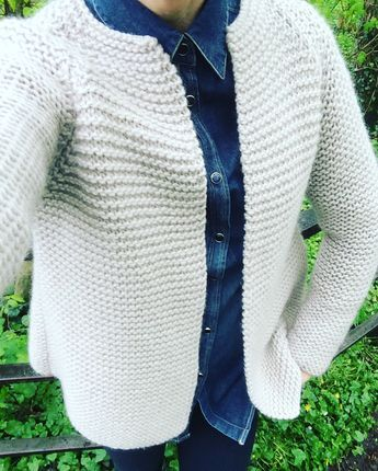 Der Martina Cardigan von We are Knitters | Jacke stricken