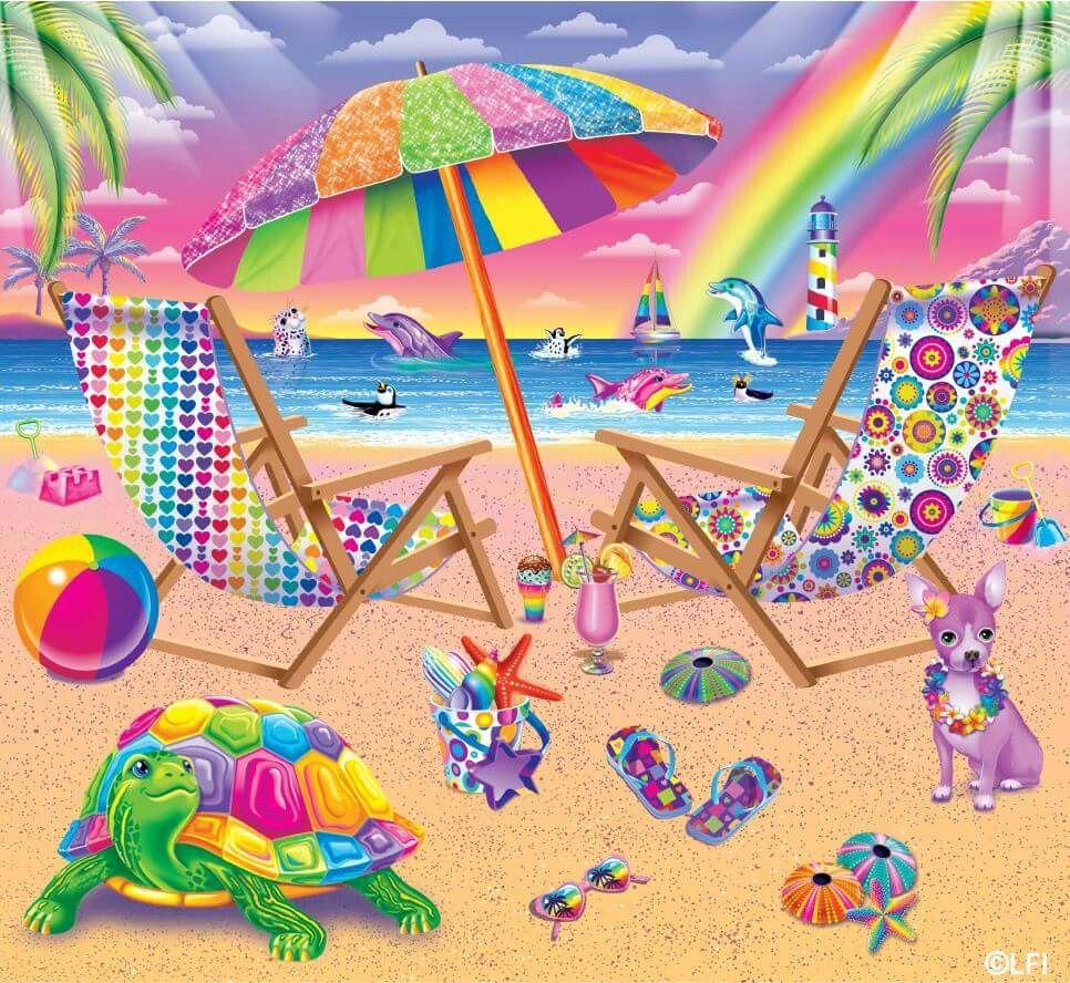 Lisa frank beach