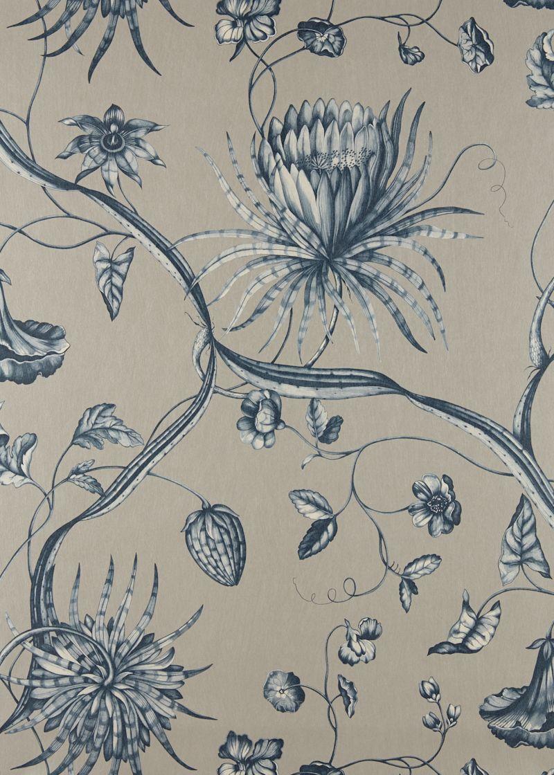 Phaedra by Zoffany Blue Wallpaper 312622 Zoffany