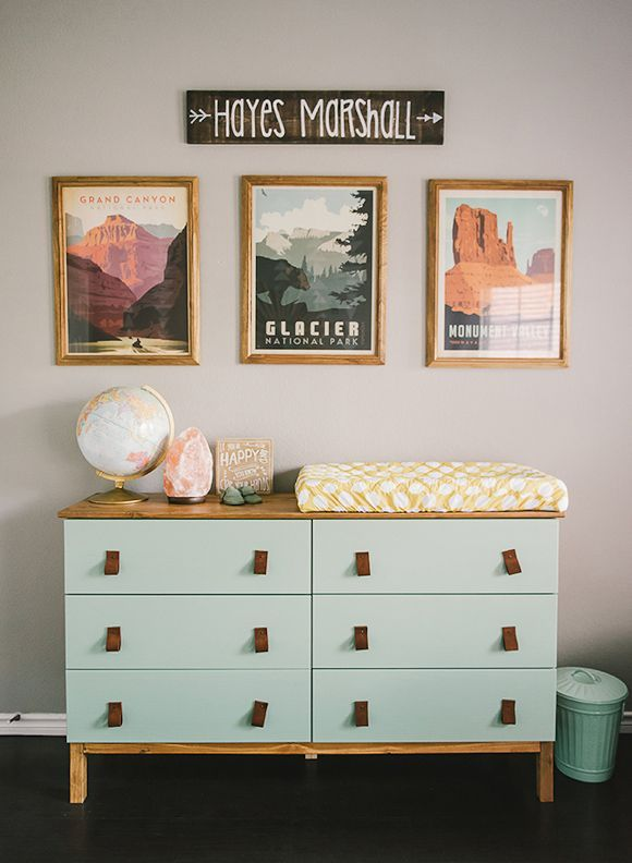 magnifique commode cuir et bois ikea tarva hacking. Black Bedroom Furniture Sets. Home Design Ideas