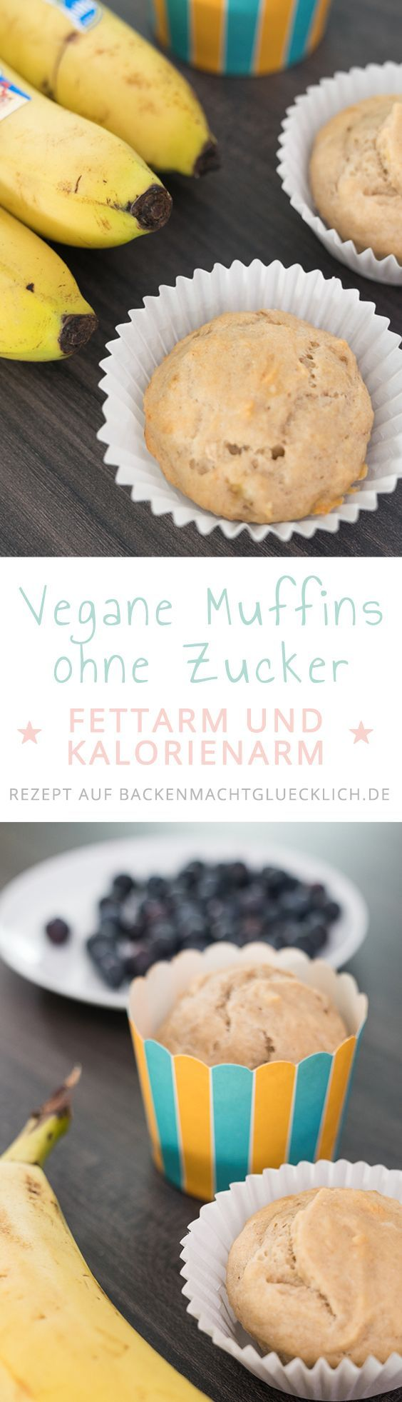 Simple banana muffins without sugar, butter, eggs Simple banana muffins without sugar, butter, eggs /