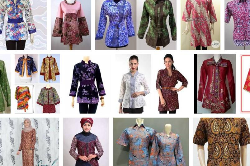 Model Baju Batik Kerja Terbaru 2018 Fashion Pinterest Model d14949e304