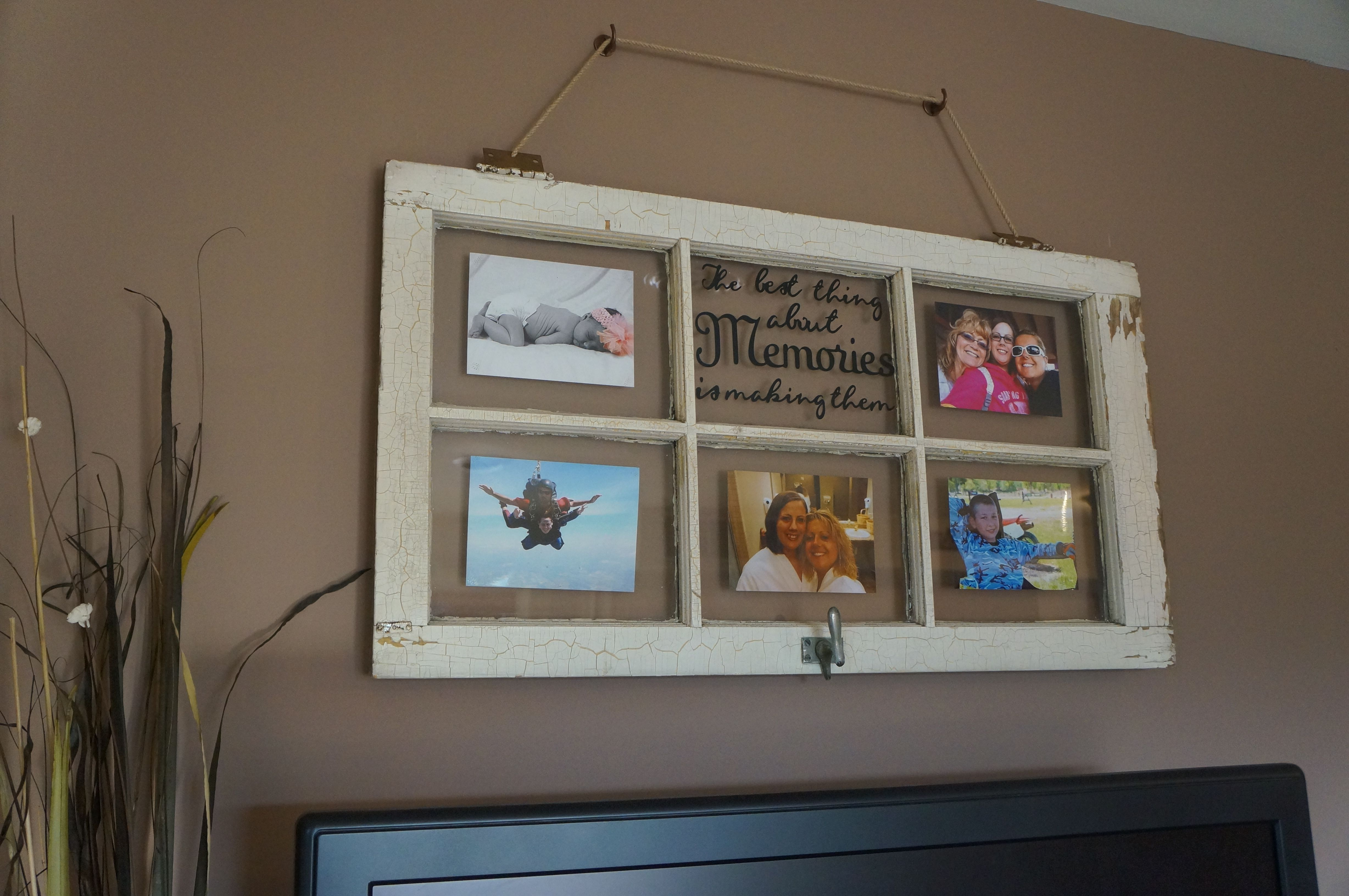 Most recent project: small hinged door used as a picture frame ...