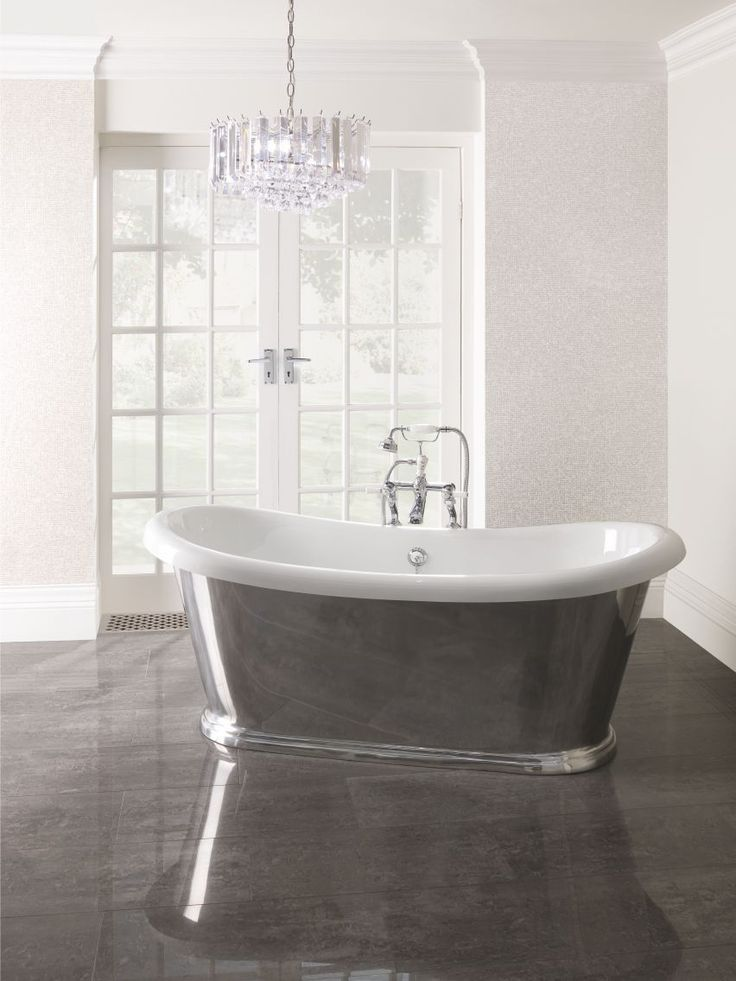 Metallic Aluminium Boat Bath By BC Designs