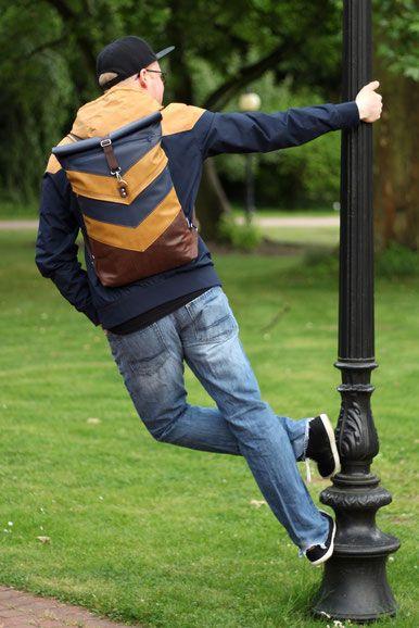 Rucksack VARO | Nähen | Pinterest | Nähen, Rucksack nähen und Diy nähen