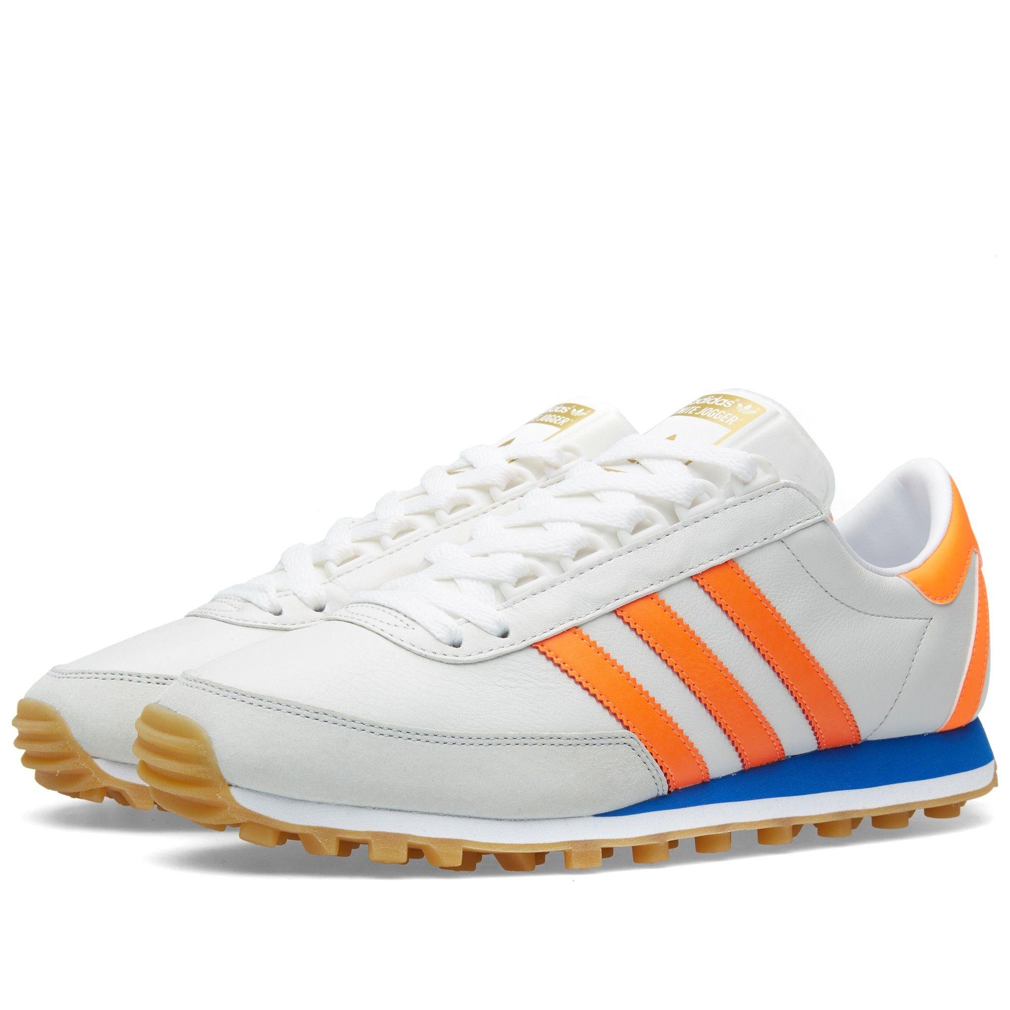 Adidas Nite Jogger OG (Vintage White & Solar Orange