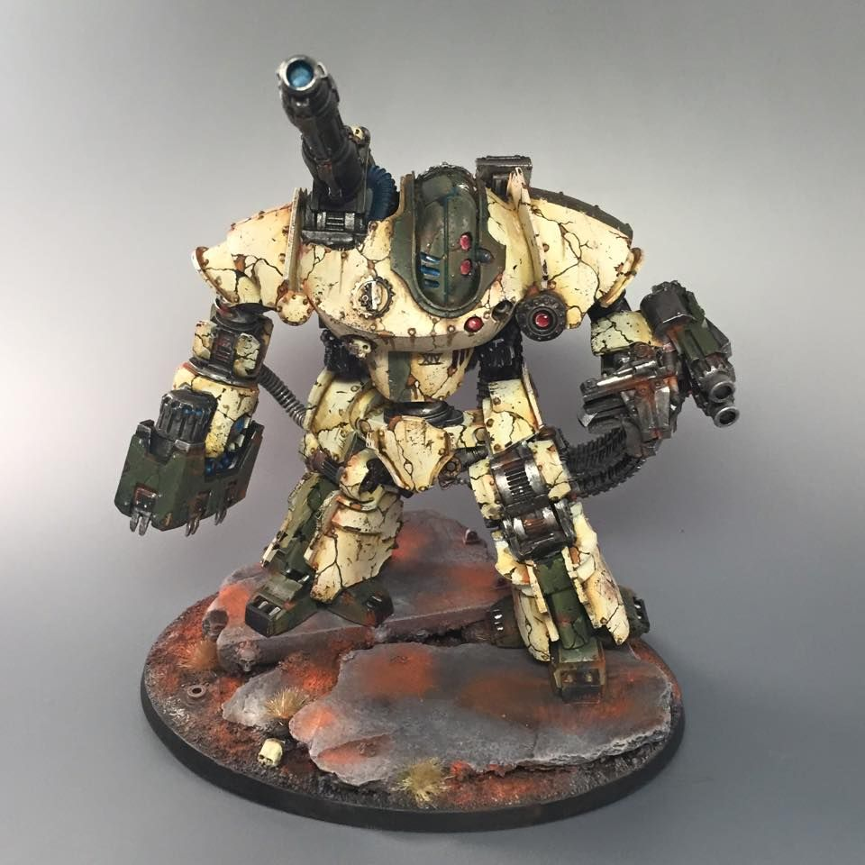 40k - Thanatar Calix Siege Automata by Incanus