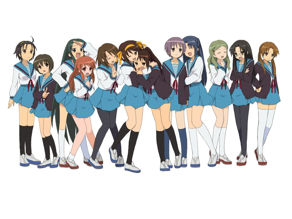 *NEW* The Melancholy of Haruhi Suzumiya Haruhi-chan Group Wallet