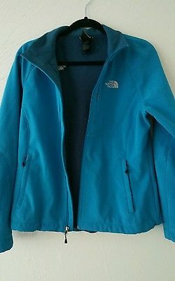The North Face Apex Bionic Jacket Women's Baja Blue Size Large Teal
