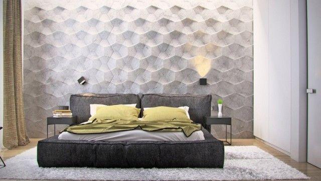Décoration de chambre - 55 idées de couleur murale et tissus