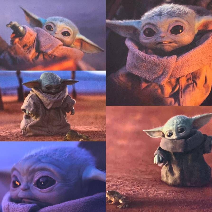 Baby Yoda Cutest Ever By Yingcartoonman On Deviantart Yoda Wallpaper Star Wars Baby Star Wars Yoda