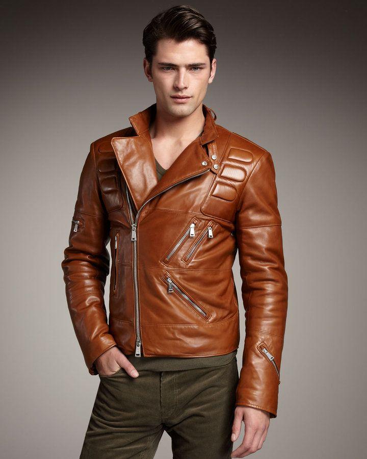 Ralph Lauren Black Label Leather Motorcycle Jacket