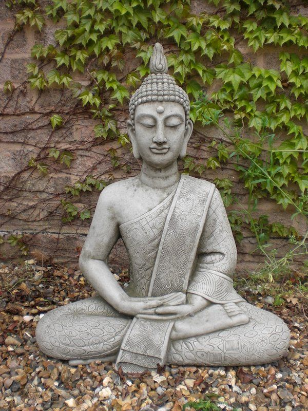 Large Garden Buddha Statues Garden Statues For The Yard, Patio Or Deck