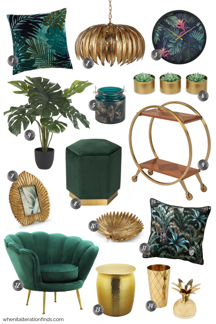 Photo of Get the Look: Tropical Velvet Luxe | When It Alteration Finds