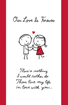 Printable card my forever love relationships my forever love is one of thousands of american greetings cards you can personalize m4hsunfo Choice Image