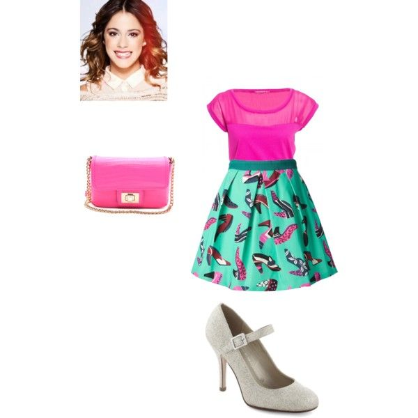 Violetta Outfit Vilu Ludmi Style Pinterest Teen Girl Fashion Clothes And School Outfits
