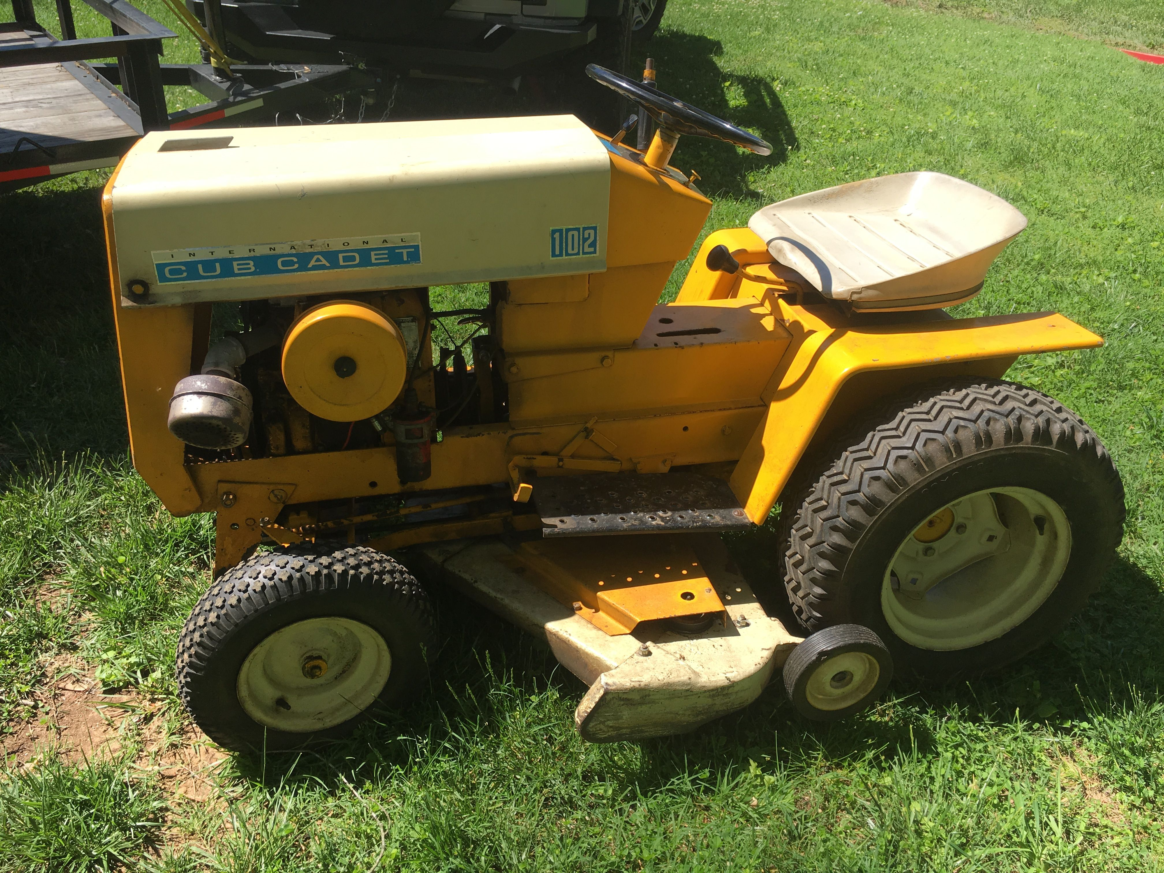 Pin by Dan Taylor on Cub Cadet   Pinterest   Tractor and Quad trailer
