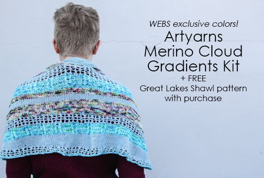 Artyarns Merino Cloud Gradients Kit in WEBS Exclusive Colors