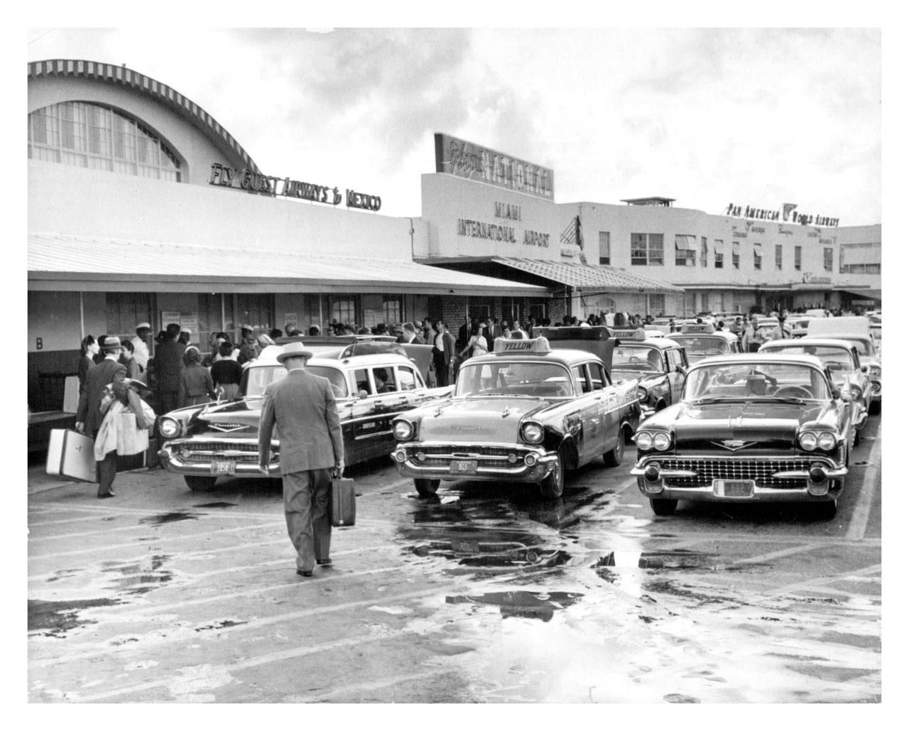Vintage shots from days gone by! Miami international
