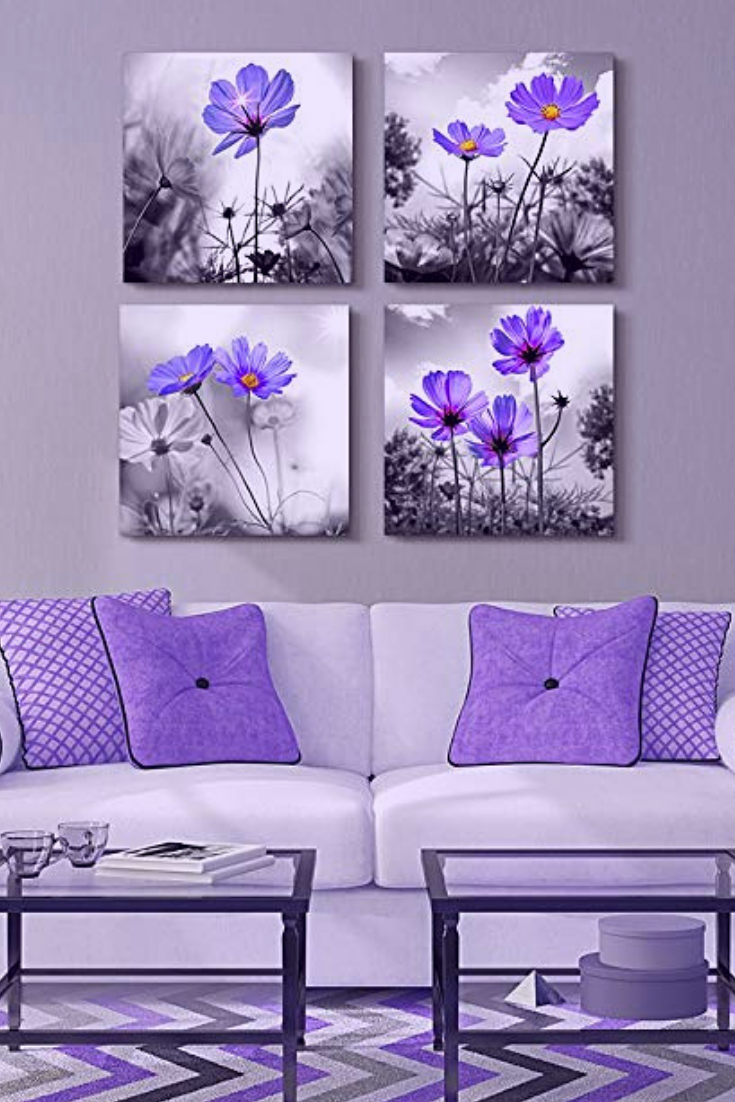 Winter decorating ideas decorating with winter floral wall art