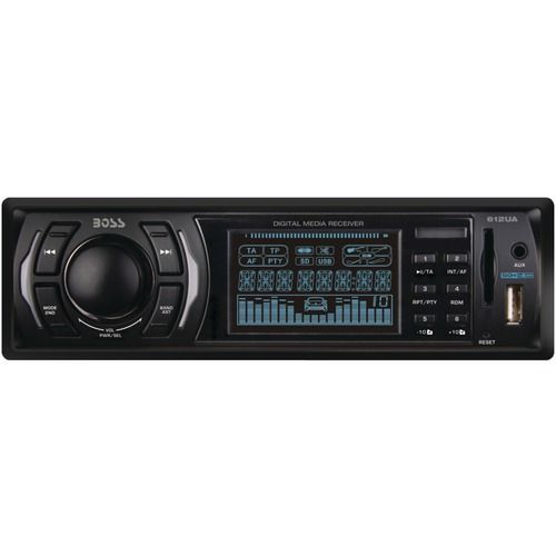 boss audio single din in dash mechless receiver products rh pinterest com