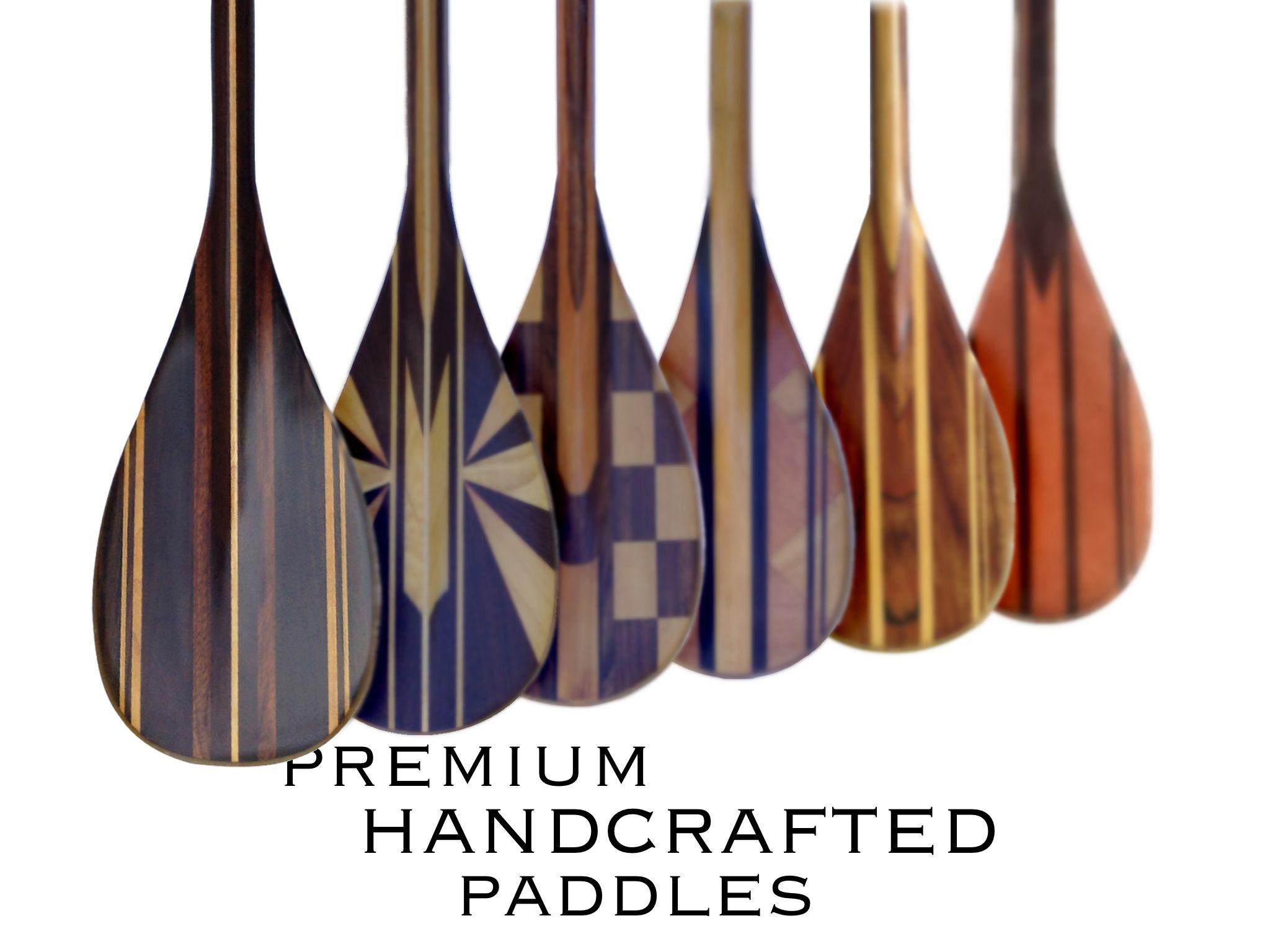 Deppen custom wood canoe paddles - Superior Sup And Canoe Paddles Deppen Paddles