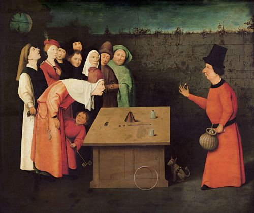 Hieronymus Bosch. The Magician. 1502