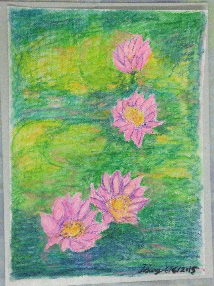 Lotus flower art jojung art pinterest lotus flower art and lotus flower art jojung izmirmasajfo