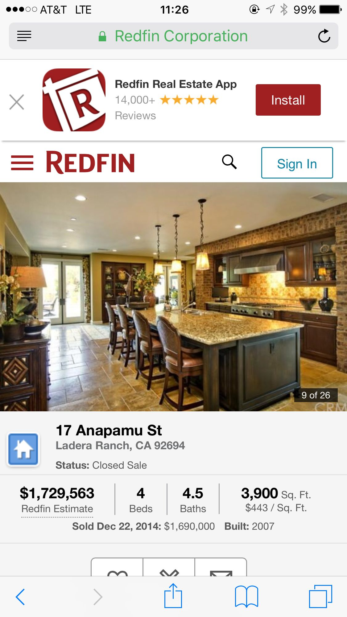 Pin by cupcake queen on kitchen redfin ladera ranch