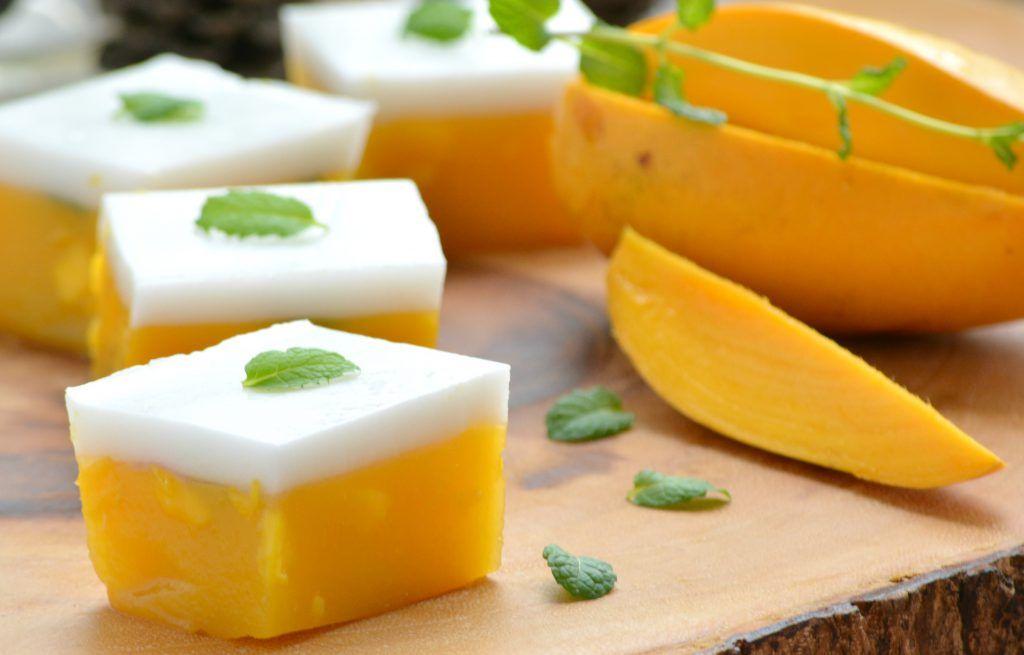 Laris 100 Porsi Perhari Resep Ide Usaha Dessert Coconut Jelly Fruit Puding Resep Makanan