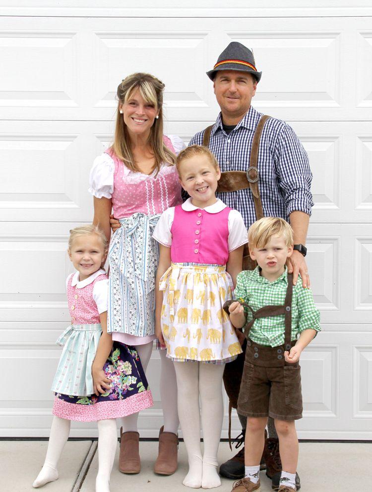 Dirndl And Lederhosen Diy The Sewing Rabbit German Costume Diy Oktoberfest Outfit Oktoberfest Costume
