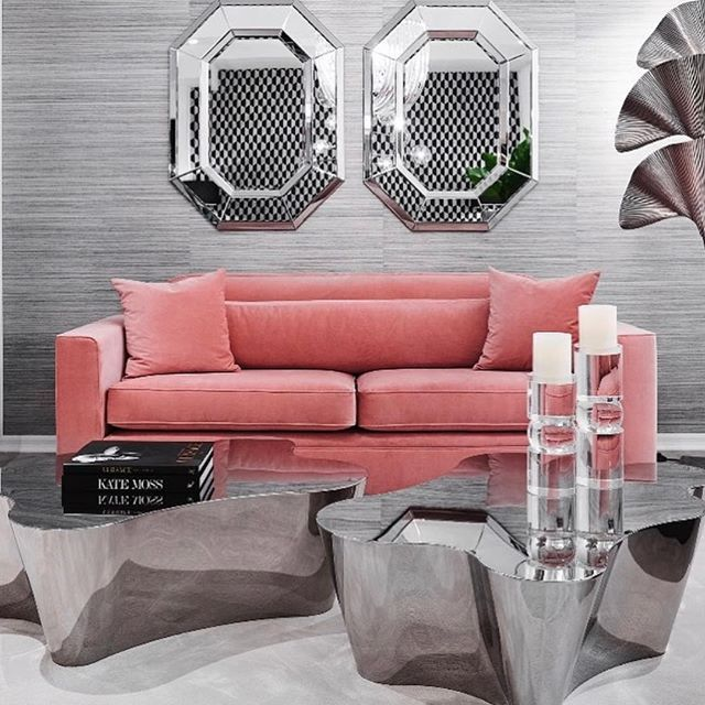Fabulous finest hampton bay on instagram pink and silver for Realta mobilia 1093 en amsterdam