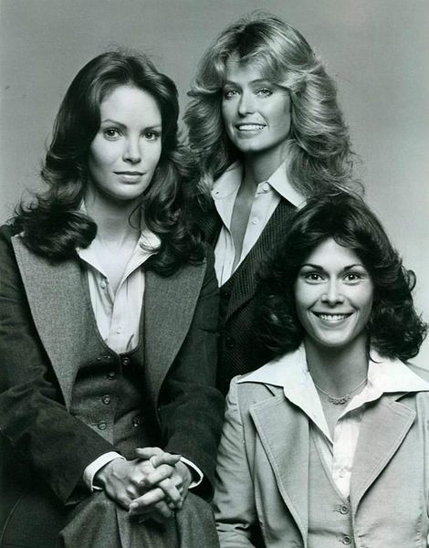 They Were My Idols The Original Charlies Angels Charlies Angels Kate Jackson 1970s Hairstyles