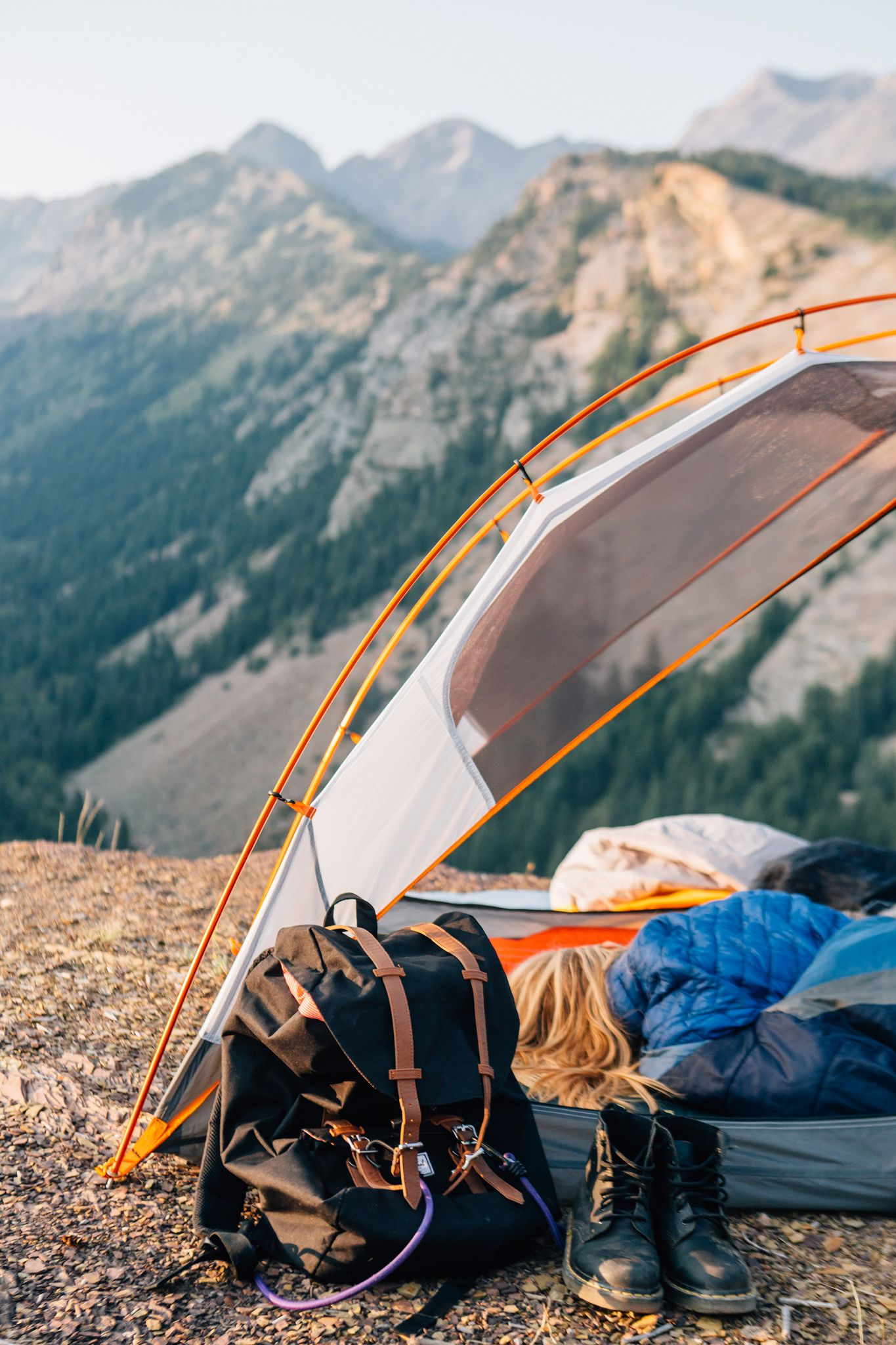 tent + gear big cottonwood canyon utah | c&ing + outdoors #adventure & Cliffside Camping. | Camping outdoors Utah and Camping