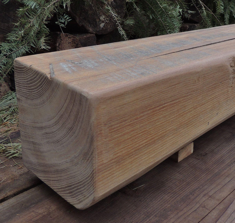 Reclaimed Wood Fireplace Mantel Or Mantle Shelf 64 1 4 X 6 X 6 3