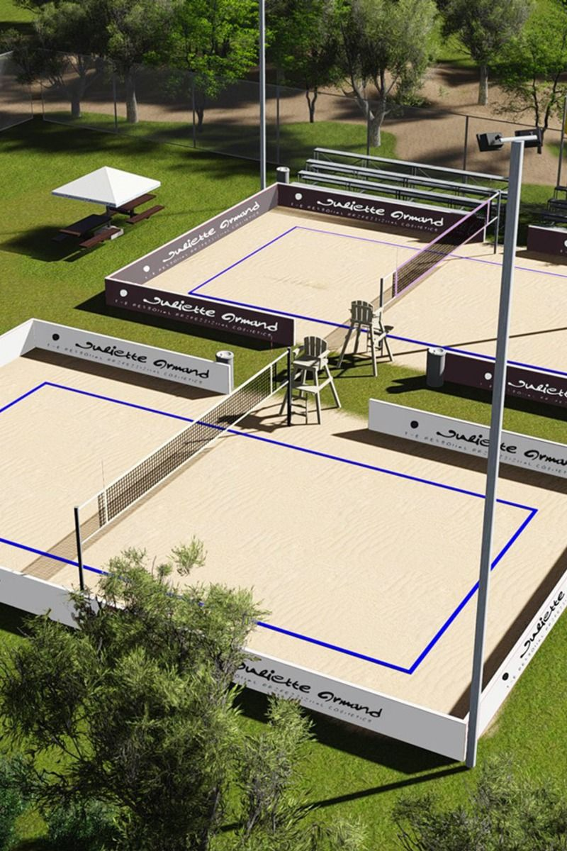 Savoteur Beach Tennis Sand Volleyball Court Beach Volleyball Court