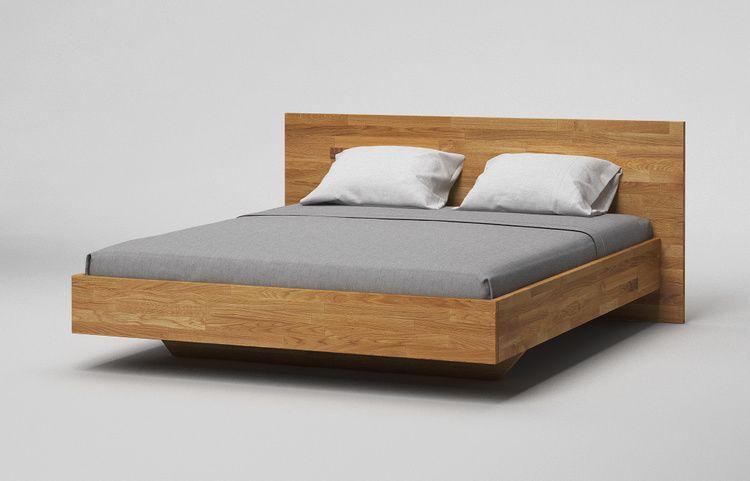 Bett B35 Schwebebett Massiv Stumpf A4 Eiche Kgl Schwebebett Schwebendes Bett Bett Eiche