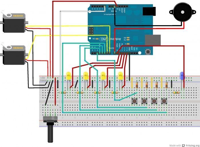 WikiDébrouillards  Coffre à code avec Arduino Science en classe