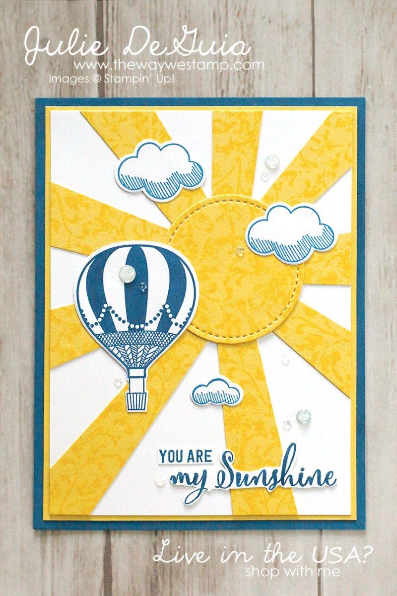 Motherus day card ideas blog hop stampinu up lift me up make