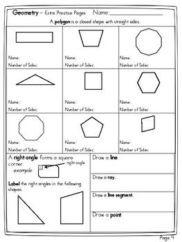 Name The Polygon And Decompose Shapes Polygon Decompose Names