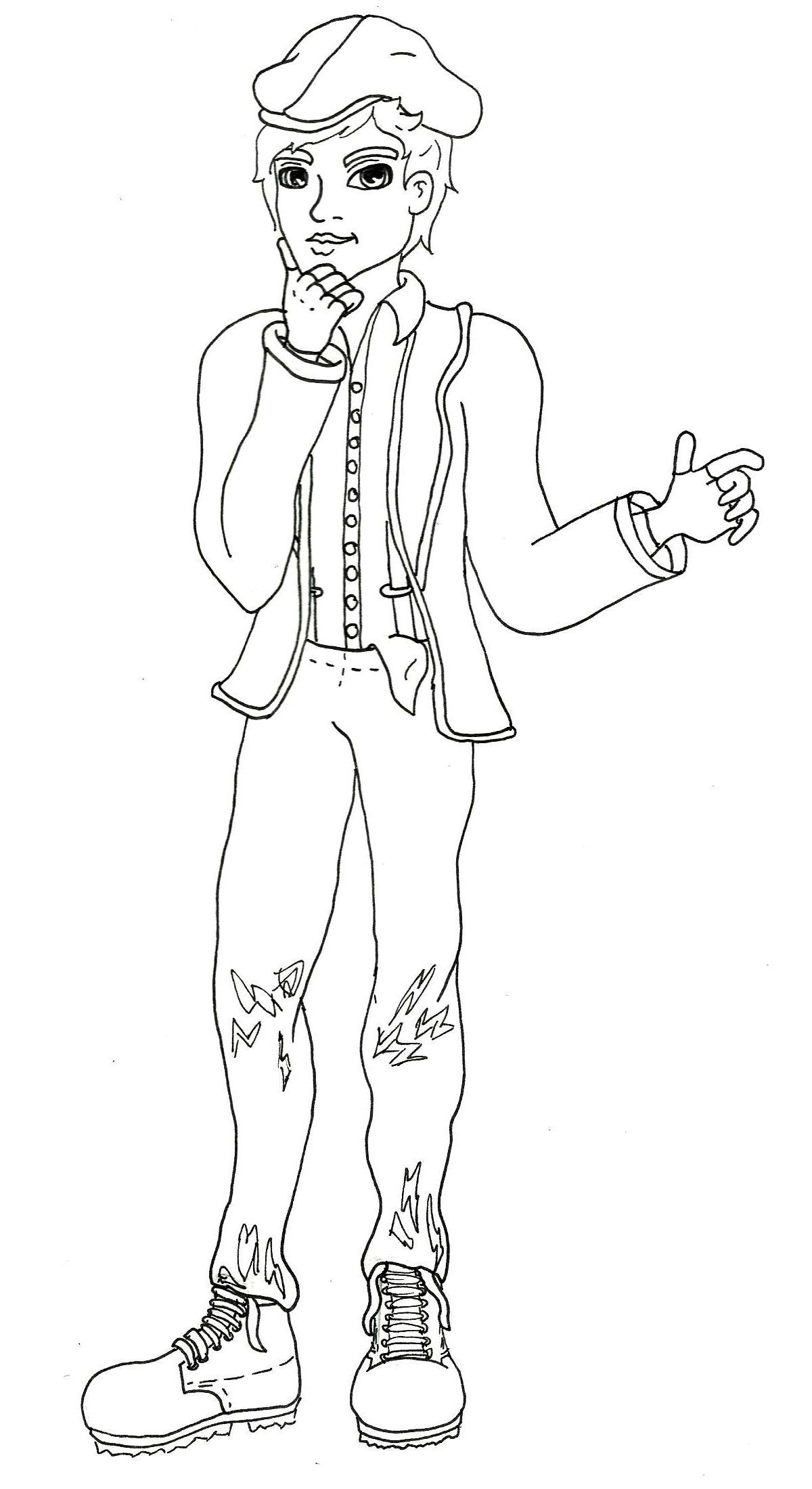 Ever After High Darling Charming Coloring Pages Lovely Ever After