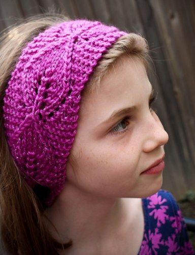 Free Knitting Patterns For Bouquet Of 4 Headbands And More Headband