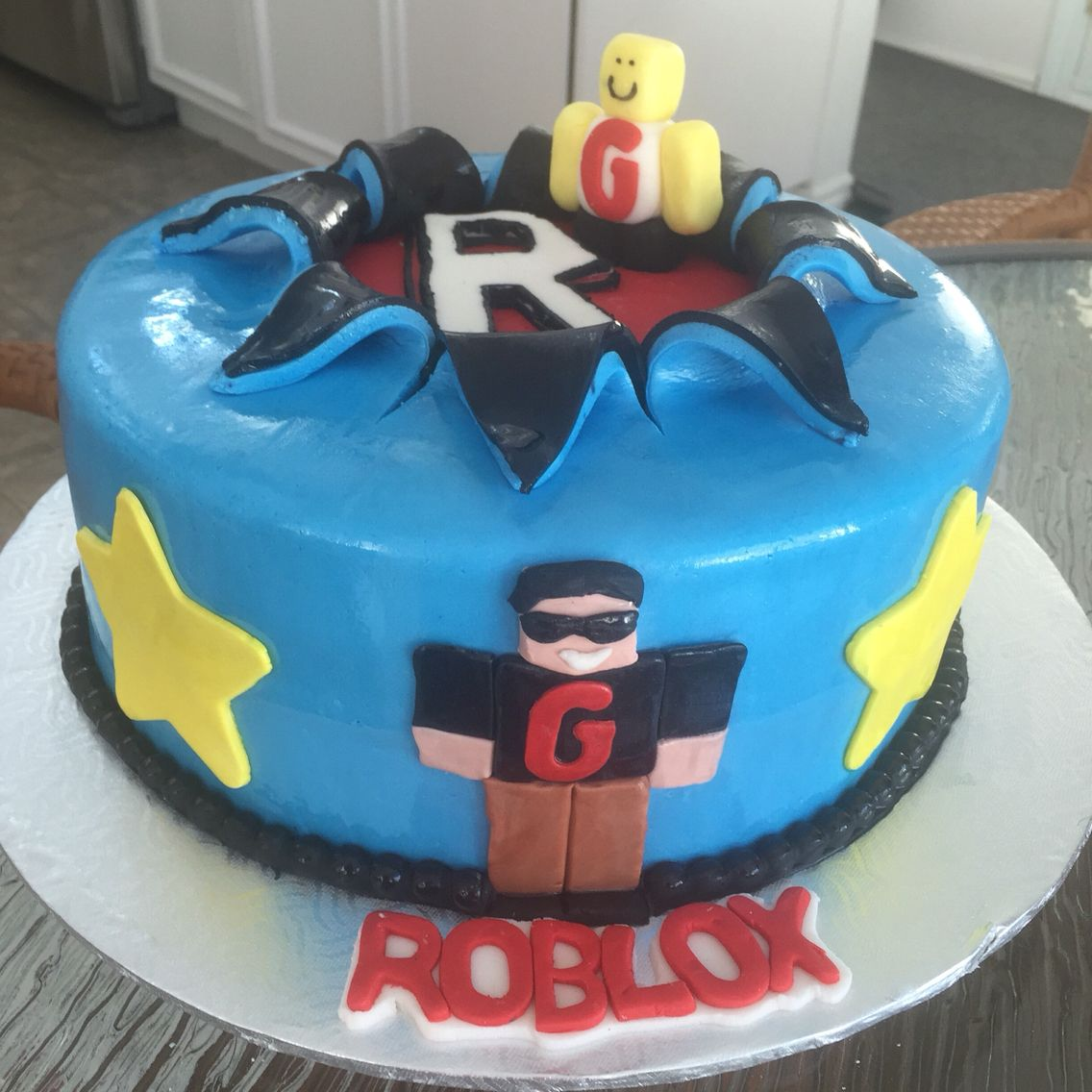 Roblox Roblox Cake Boy Birthday Cake Game Truck Birthday Party