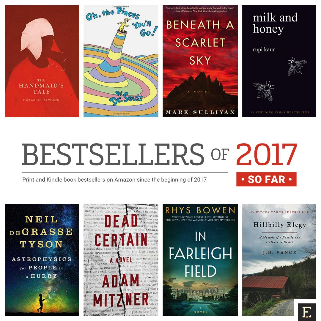 Mid-year book lists: Amazon best books and bestsellers of