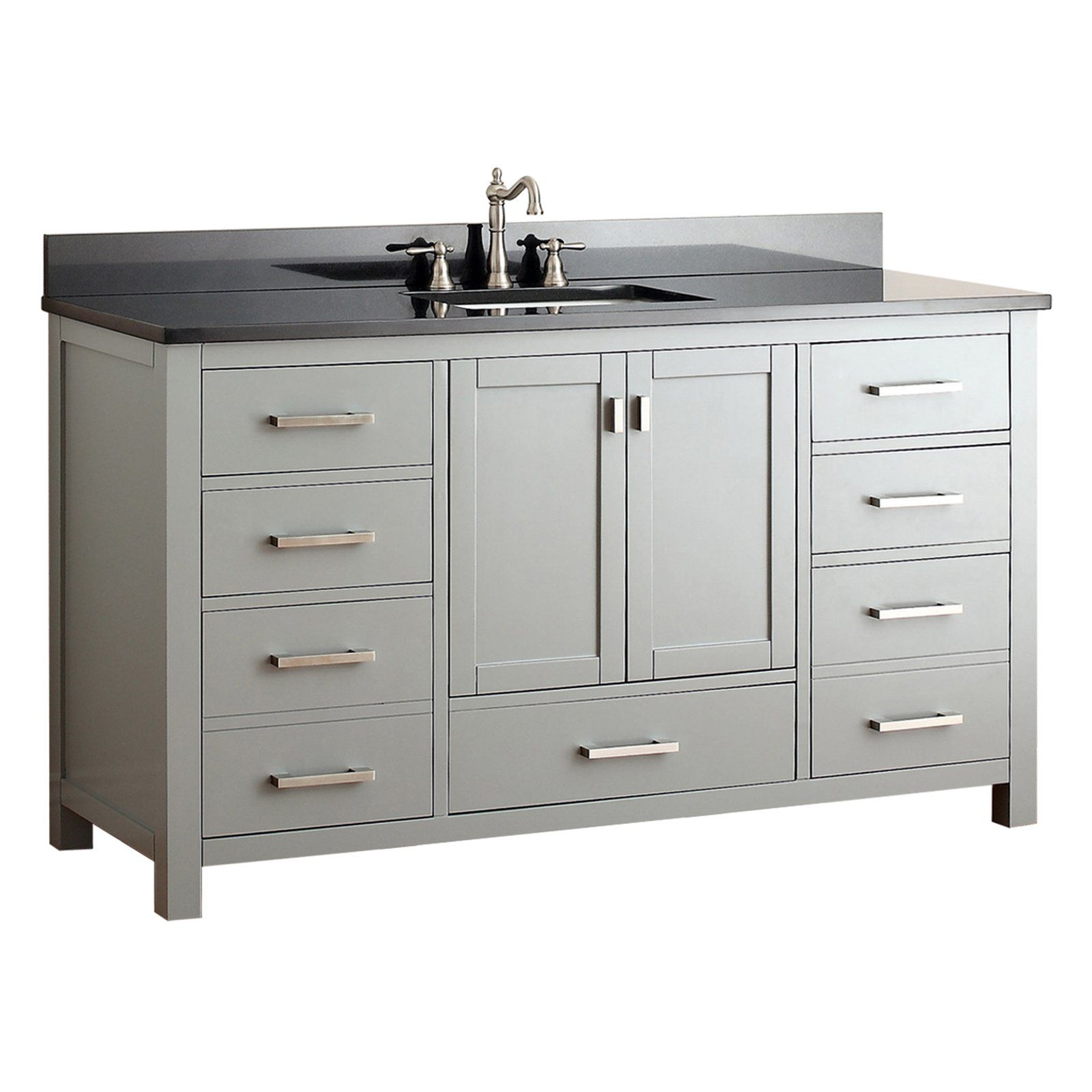 Avanity Modero Vs60 Cg Modero 60 In Single Bathroom Vanity Without Top Products In 2019 Single Bathroom Vanity Single Sink Bathroom Vanity Bathroom Vanity Base