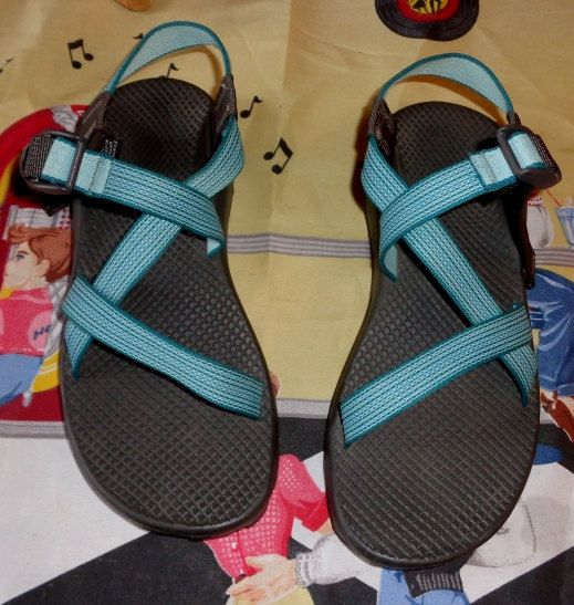 42283817e678 Chaco Women s Chacos Z1 Yampa WAVES Blue by momspinkelephant1 ...