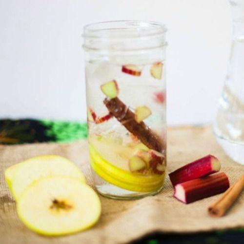 rhubarb apple cinnamon