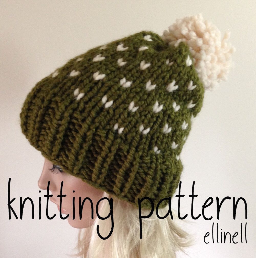 Knitting Pattern Instant Download East Bay Hat | Knitted hat ...
