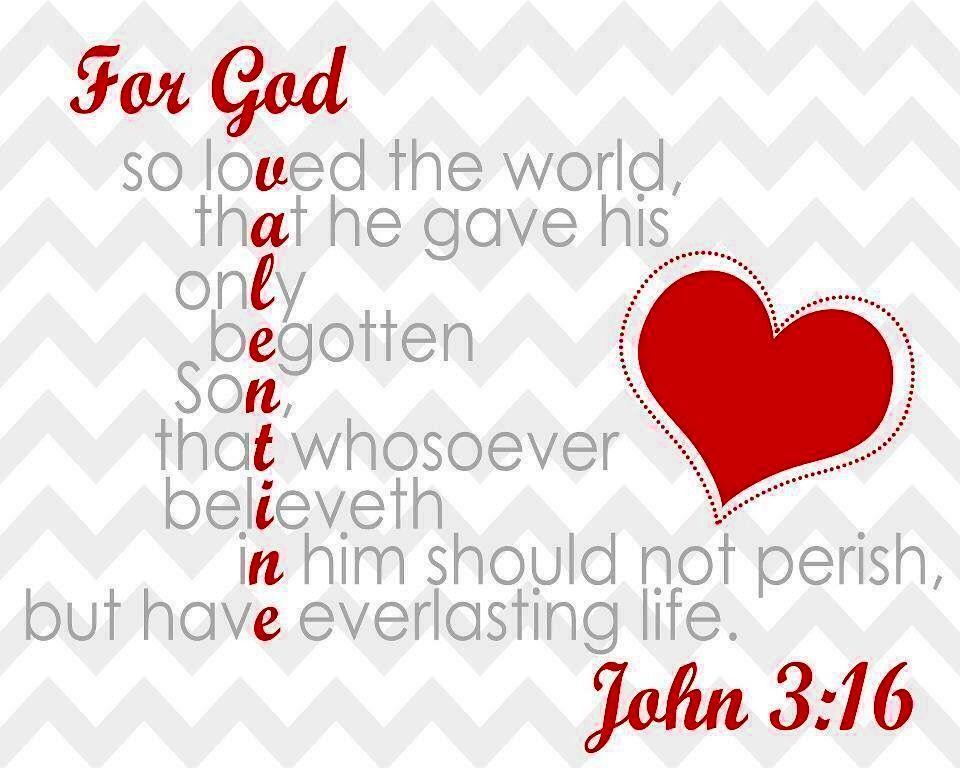 Valentines scripture image by Freda LindseyMalin on God
